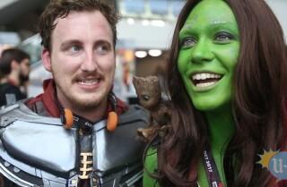 Comic-Con karaoke: They're 'Hooked on a Feeling'