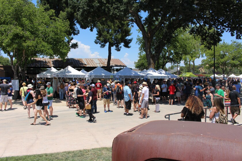 One reason why this festival works: the number of breweries and fest-goers is limited.