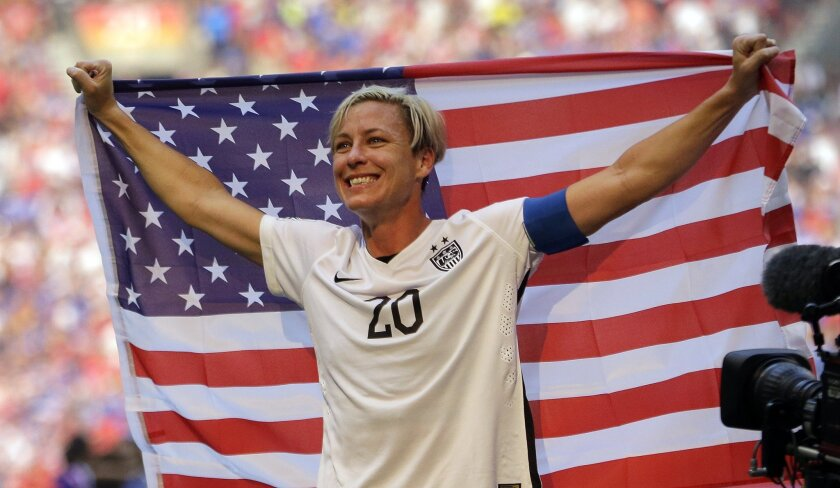 low priced 4c7ae f1fc5 Abby Wambach announces her retirement from soccer - Los ...