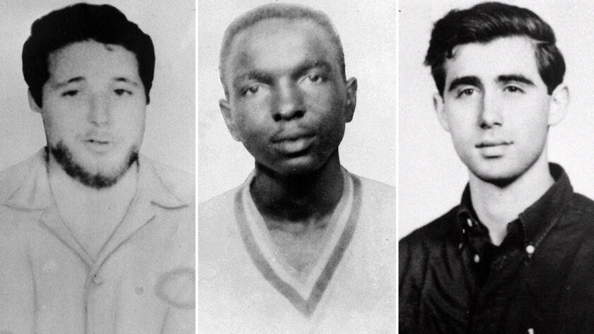 Michael Schwerner, James Chaney and Andrew Goodman