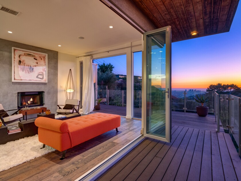 Nicholas Kirkwood's Hollywood Hills home