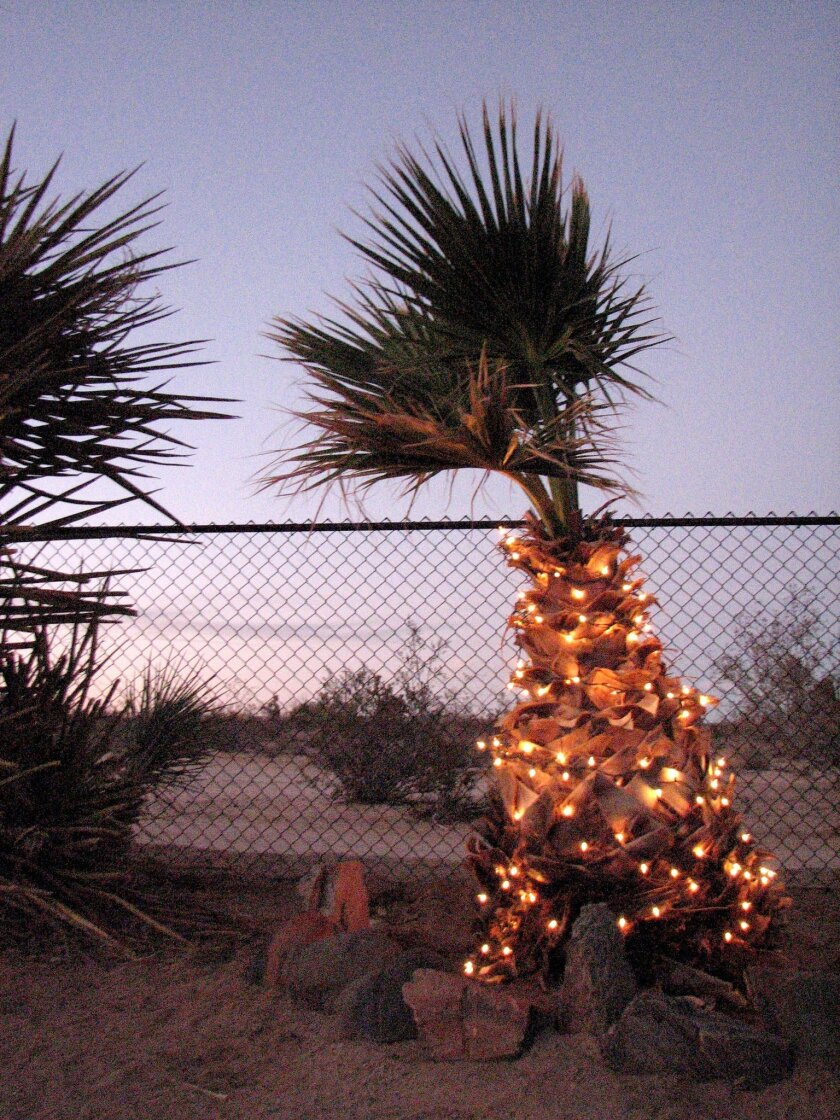 Holidays in Southern California