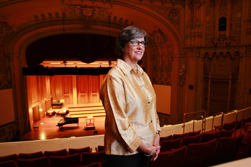 Martha Gilmer is the new CEO of the San Diego Symphony.