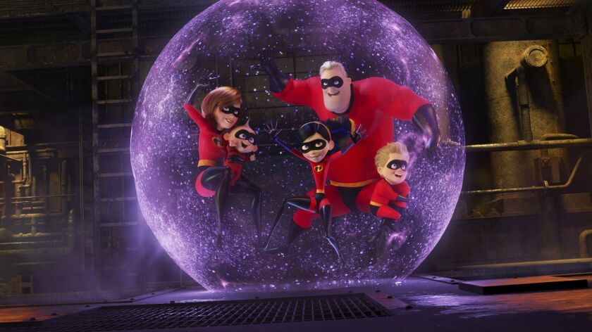 "Disney's ""Incredibles 2"" was the summer's top-grossing movie domestically."
