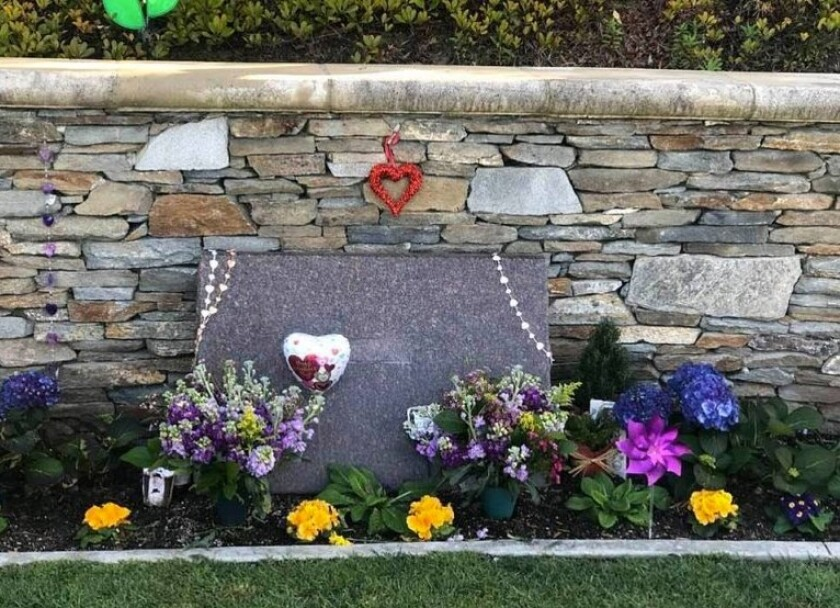 This unmarked gravesite at Pacific View Memorial Park in Corona del Mar is not the burial spot of Kobe and Gianna Bryant, according to the cemetery.