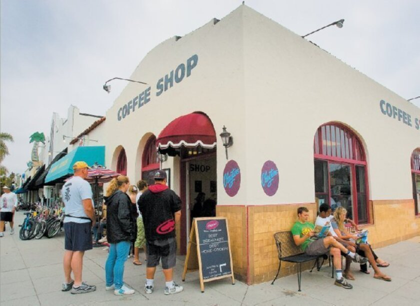 Locals and tourists crowd into Clayton's coffee shop on Orange Avenue in Coronado. The beloved classic diner is getting a stylish new sister eatery, Clayton's Bakery & Bistro.
