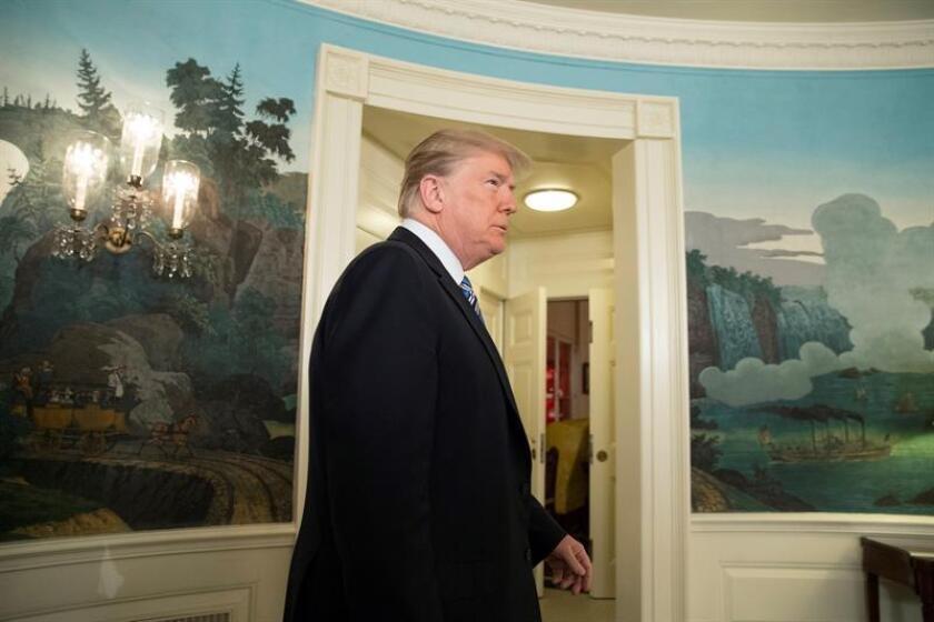 El presidente de los Estados Unidos, Donald Trump. EFE/Archivo