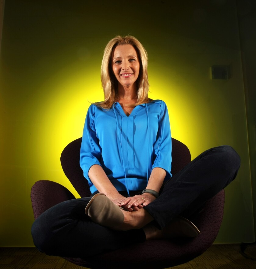 """Lisa Kudrow of """"Friends"""" fame opens up about her rough adolescent years and the sitcom that made her ultra-famous."""