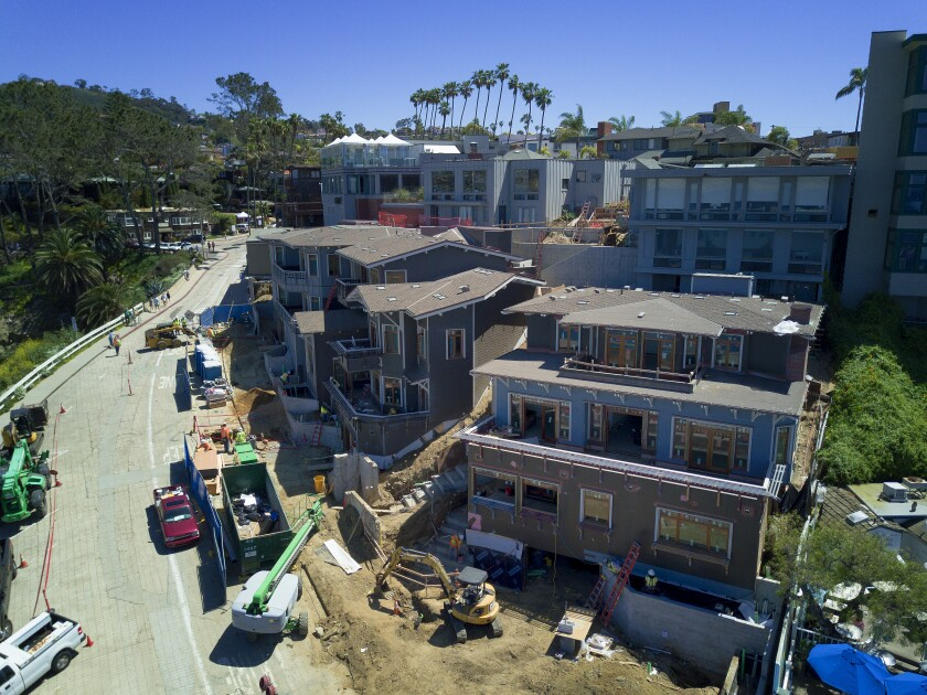 San Diego home building continues to plummet  Biggest drop