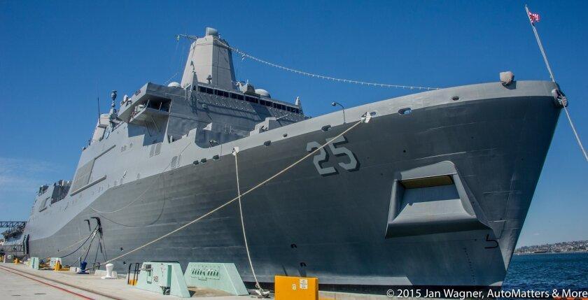 Fleet Week San Diego — USS Somerset
