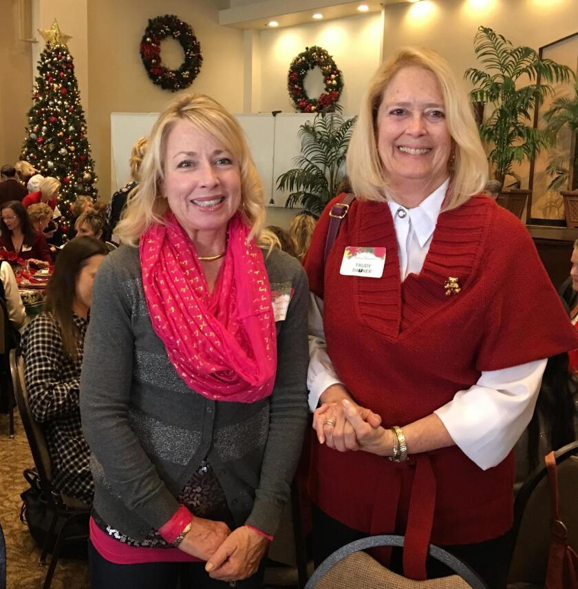 Denise Copeland and Trudy Dauner