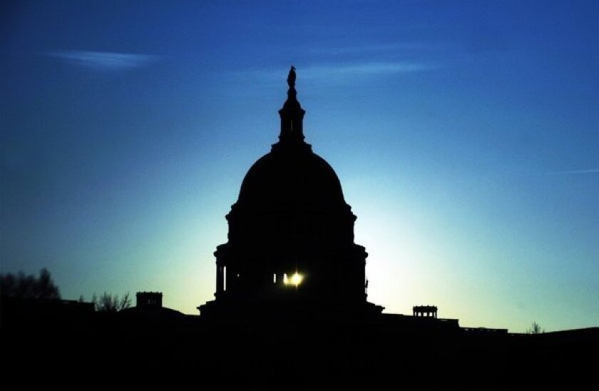 Federal budget cuts are likely to pinch states at the local level if Congress doesn't reach a spending deal by March 1.