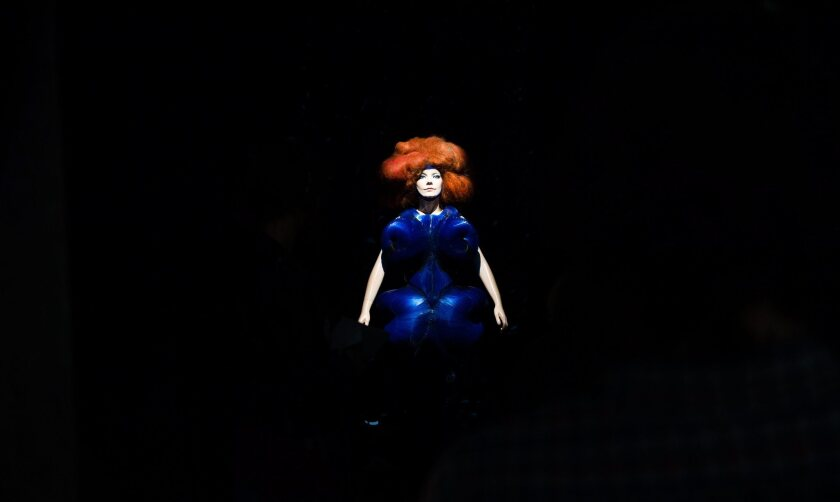 The Bjork exhibit at MoMA in New York