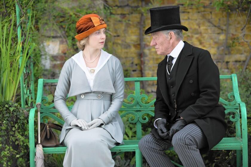 "Ian McKellen stars in ""Mr. Holmes"""