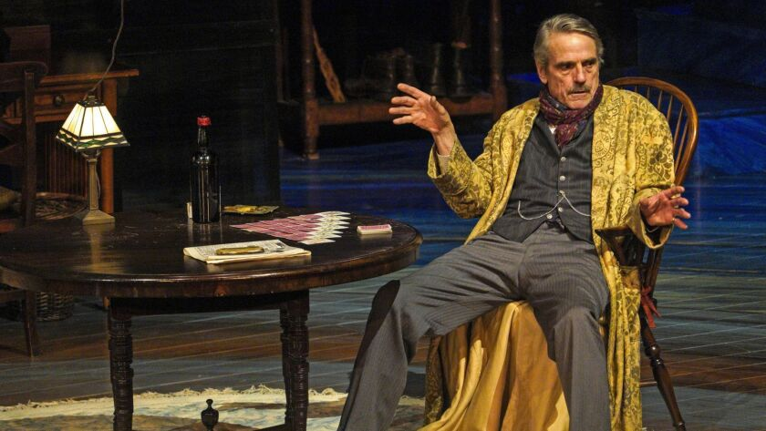 """Jeremy Irons in """"Long Day's Journey Into Night"""""""