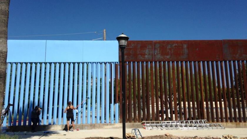 Foto de archivo de la frontera, en Nogales, México.