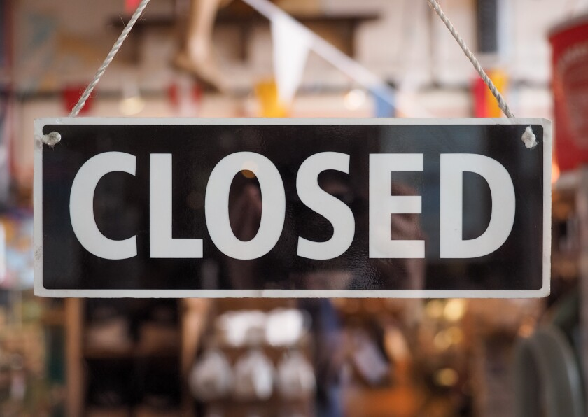 Many businesses in La Jolla have closed and many others are struggling amid the COVID-19 pandemic.