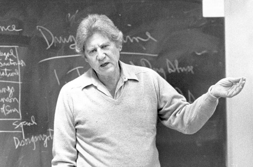 Lewis Yablonsky dies at 89; Cal State Northridge sociologist