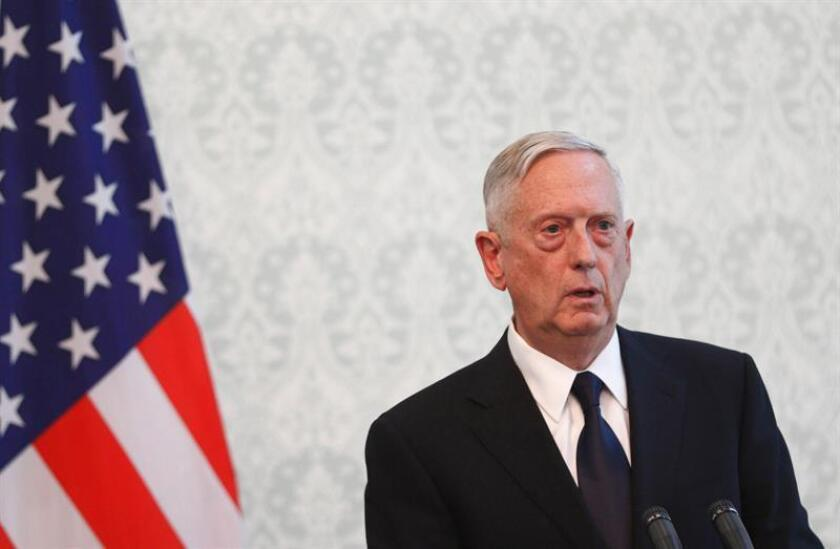 El secretario de Defensa estadounidense, James Mattis. EFE/Archivo