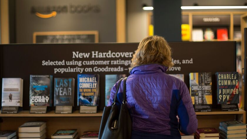 Amazon Books in Dedham, Mass.