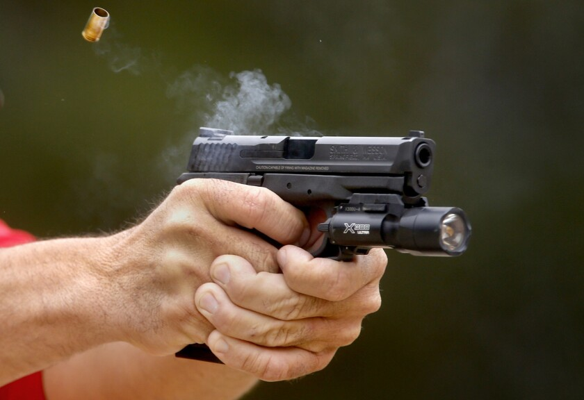 Sheriff's Department watchdog releases report on handguns