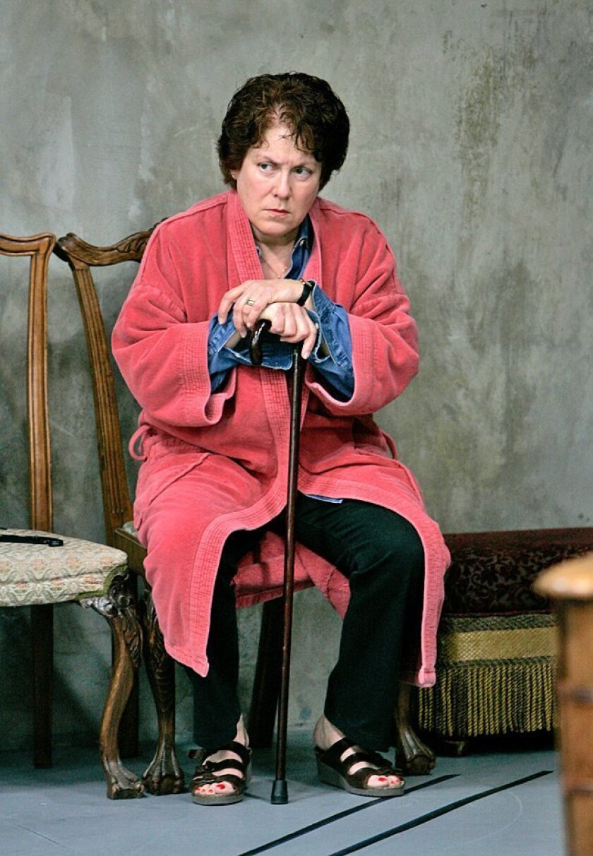 "Judy Kaye says ""Lost in Yonkers"" has humor in it, but it also ""has a very serious story, and very fully realized characters. The comedy comes directly out of the situation. That's what I think makes it so special."""