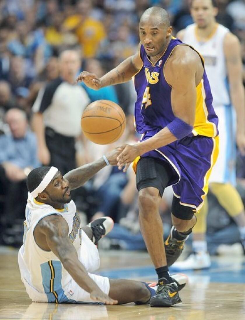 Kobe Bryant, Ty Lawson