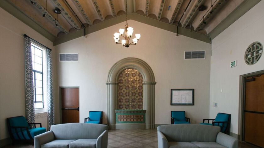 Amcal Multi-Housing Inc. retained many of the features of the former Linda Vista Hospital in its con
