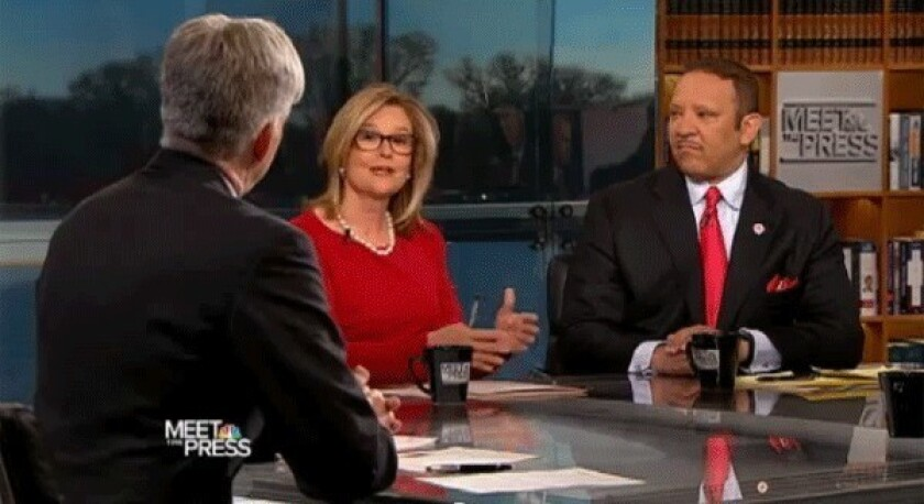"""A roundtable discussion from a 2011 episode of """"Meet the Press."""""""