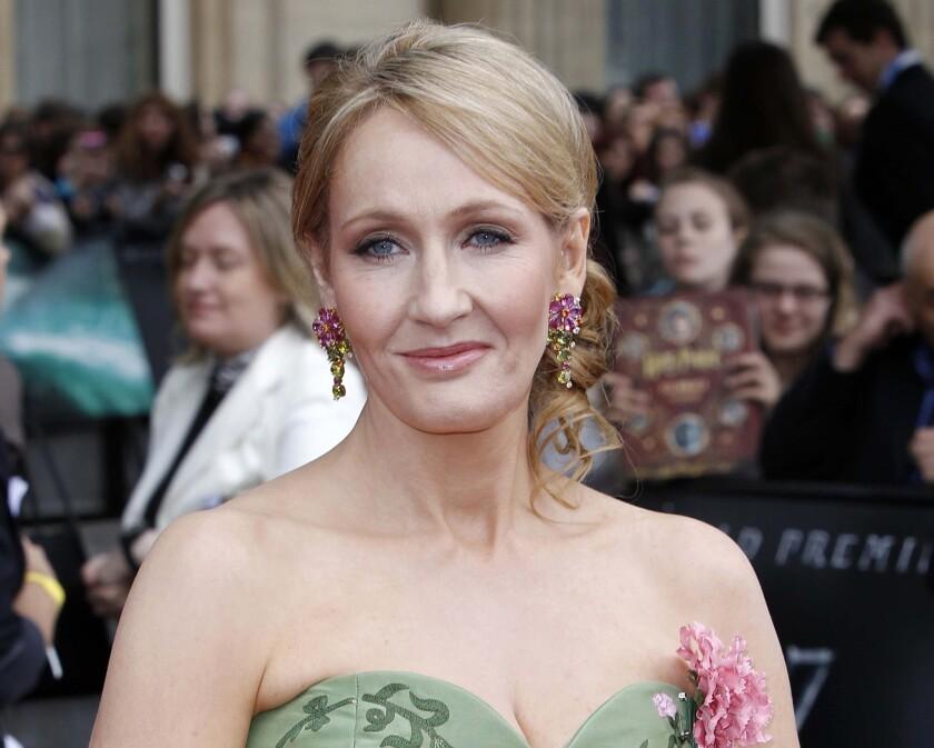 J.K. Rowling opens up about Robert Galbraith