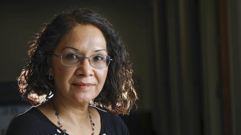 SAN DIEGO, CA 10/10/2018: Attorney Elizabeth Camarena, associate director of the Casa Cornelia Law C