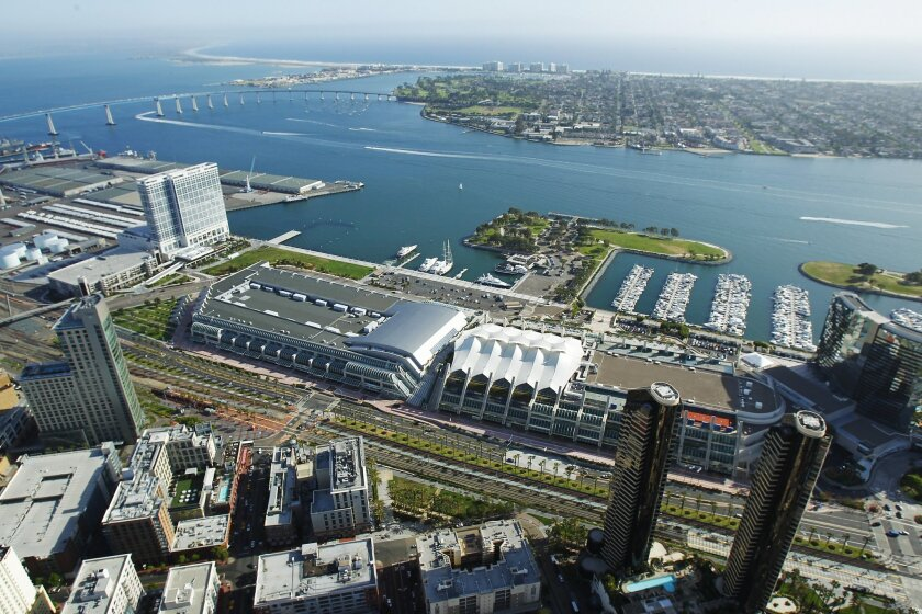 A planned study will help guide the city of San Diego in whether to move ahead with an expanded convention center on the waterfront or offsite.