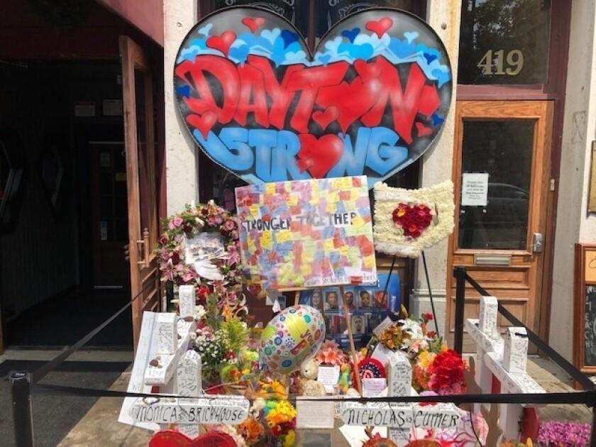 Dayton shooting memorial