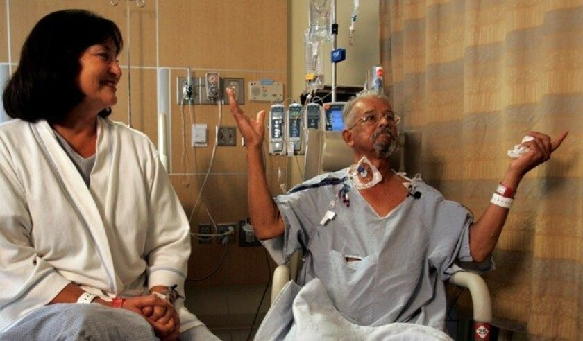 For Rita and Oscar Ayub, the National Kidney Registry came up with a lifesaving shortcut. It helps find donors for people who need a kidney, but only if they have a partner willing to give an organ to a stranger.