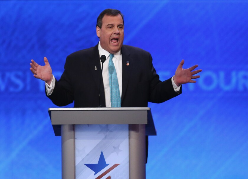 Chris Christie: Feb. 10, 2016
