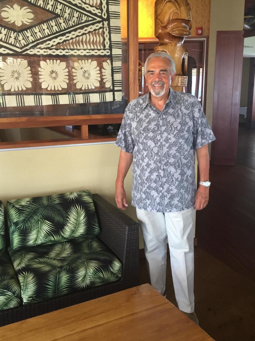 Larry Baumann, the son-in-law of Bali Hai founder Tom Ham
