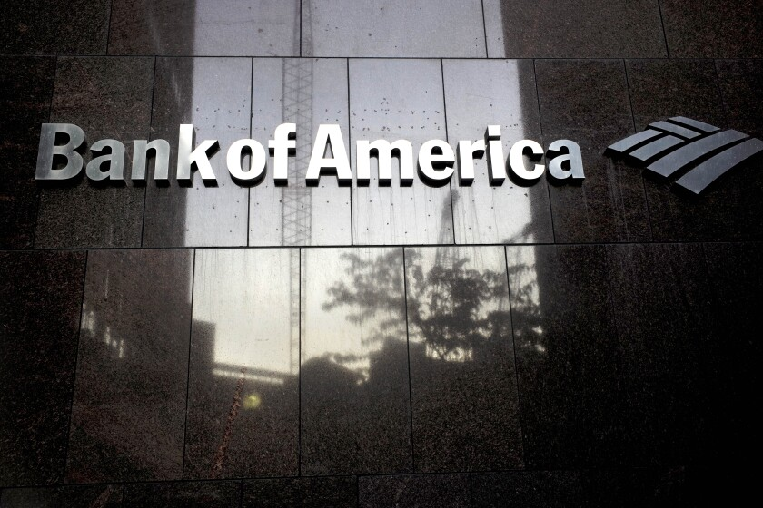 Earns Bank of America