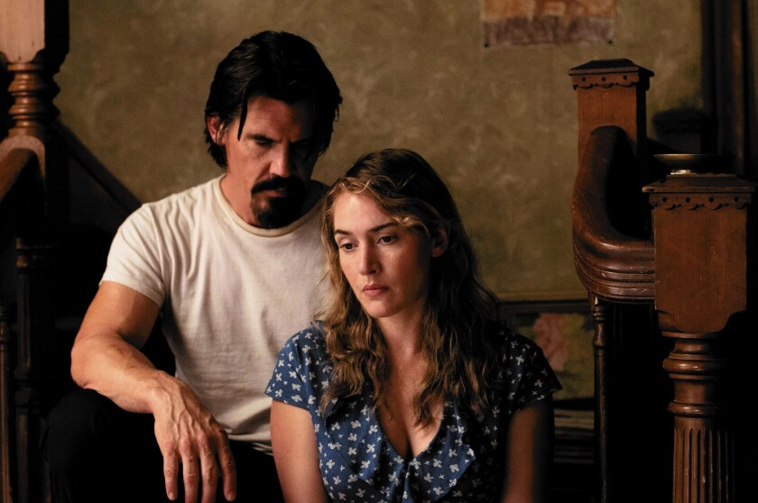"Josh Brolin is Frank and Kate Winslet is Adele in ""Labor Day."""