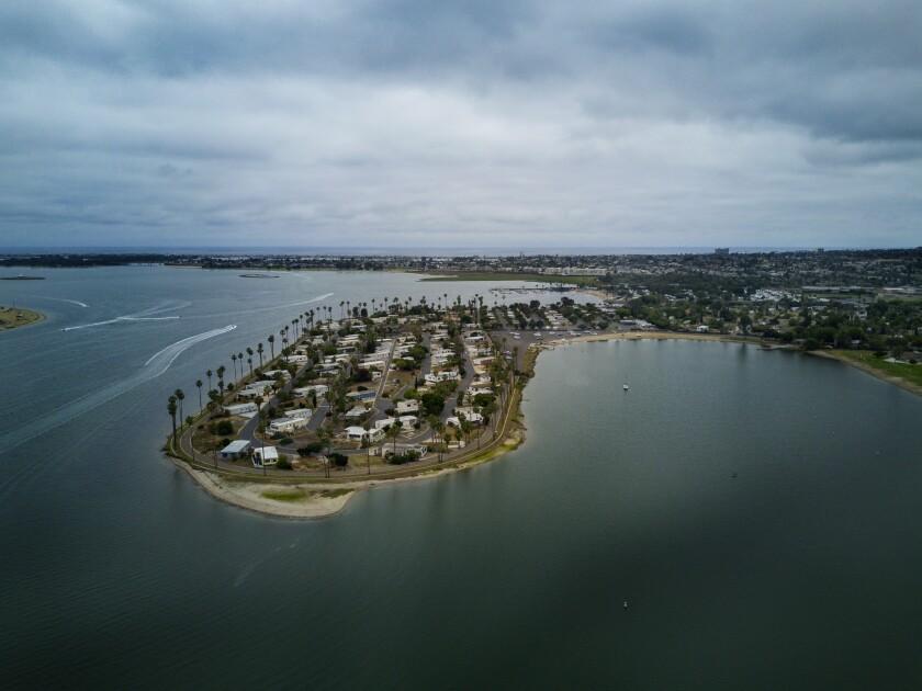 Mission Bay's De Anza Cove