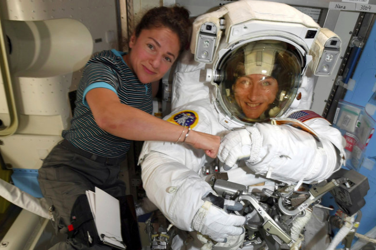 Watch UCSD alum join in first all-female spacewalk early Friday