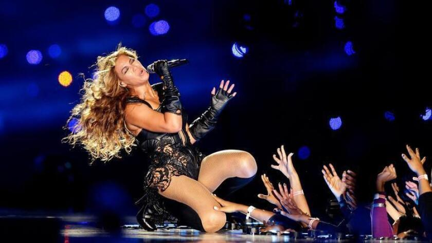 NEW ORLEANS, LA - FEBRUARY 03: Singer Beyonce performs during the Pepsi Super Bowl XLVII Halftime Show at the Mercedes-Benz Superdome on February 3, 2013 in New Orleans, Louisiana. (Photo by Ezra Shaw/Getty Images) ** TCN OUT ** (Getty Images)