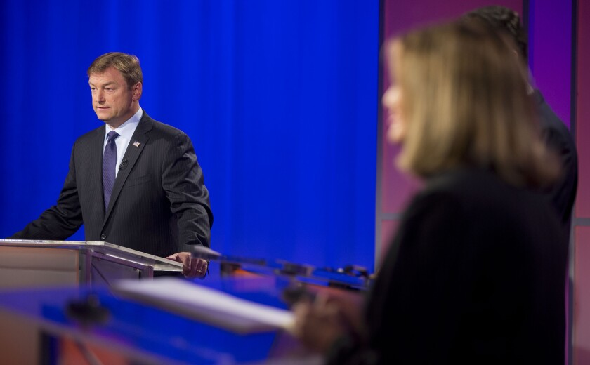 Senate battles intensify with money, ads and big-name surrogates