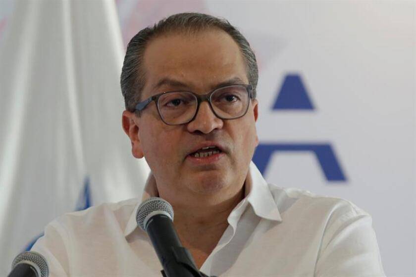 Imagen del jefe del ministerio público, Fernando Carrillo. EFE/Archivo