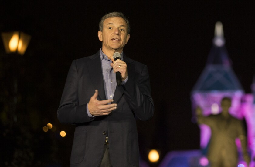 Disney's Bob Iger is on the ball with Carson's NFL stadium project