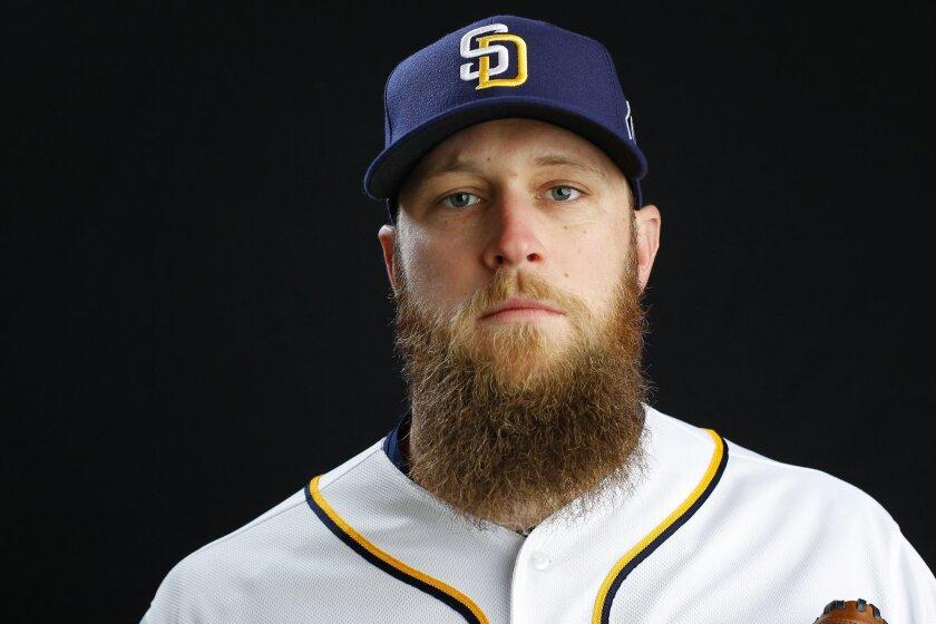 San Diego Padres pitcher Kevin Quackenbush.