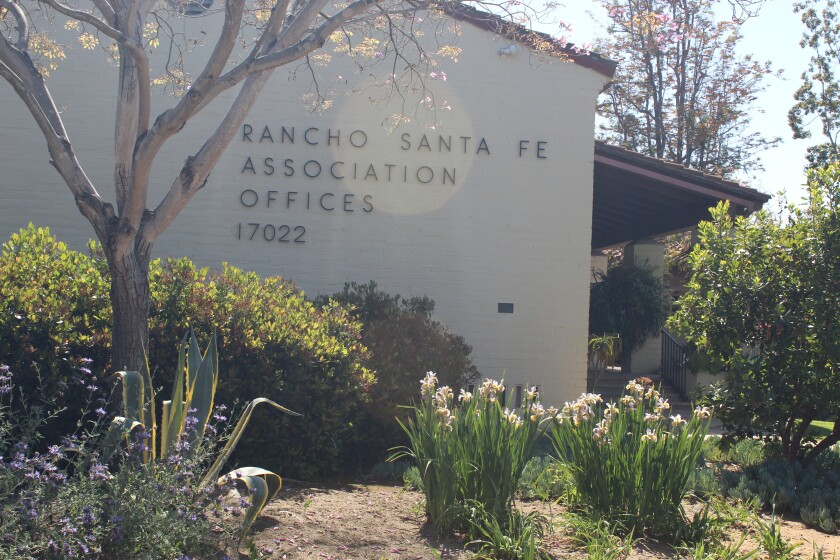 The Rancho Santa Fe Association offices.