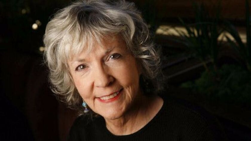 """Sue Grafton in 2009, when she was on the letter """"U."""""""