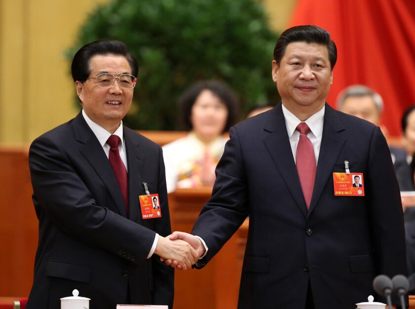 China's Xi Jinping formally assumes title of president