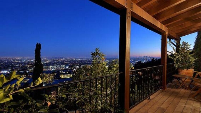 Sports agent, developer and rare coin collector Dwight Manley has listed a remodeled house in the Hollywood Hills.