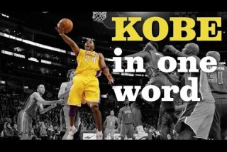 Describe Kobe Bryant in one word. Here's what some NBA players say